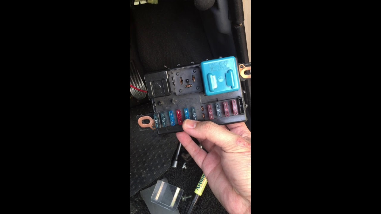 medium resolution of fuse box wiring kancil 850ez