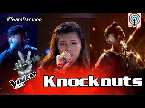 The Voice Teens Philippines Knockout Round: Queenie vs. Angelo vs. Jem