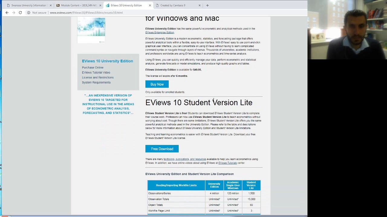 eviews 9 for mac free download