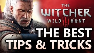 The Witcher 3 Tips & Tricks: A Walkthrough of Combat, Make Money, Leveling (Witcher 3 Gameplay)