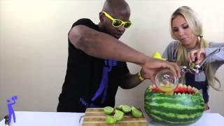 Amazing Watermelon Punch Bowl
