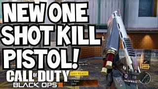 MARSHAL 16 NEW 1 SHOT KILL PISTOL! BLACK OPS 3 SHOTGUN PISTOL! (BO3 DLC WEAPONS MARSHAL EXECUTIONER)