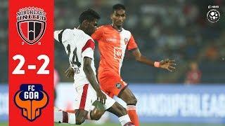 Hero ISL 2018-19 | NorthEast United FC  2-2 FC Goa | Highlights