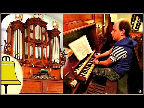 Gezang 95, Nu bidden wij met ootmoed en ontzag: Samenzang Hervormde kerk Oostwold