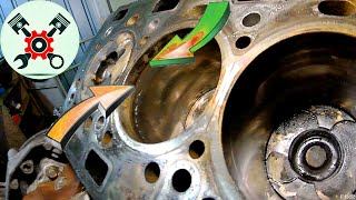 Разборка и дефектовка двигателя Рено Лагуна 2.