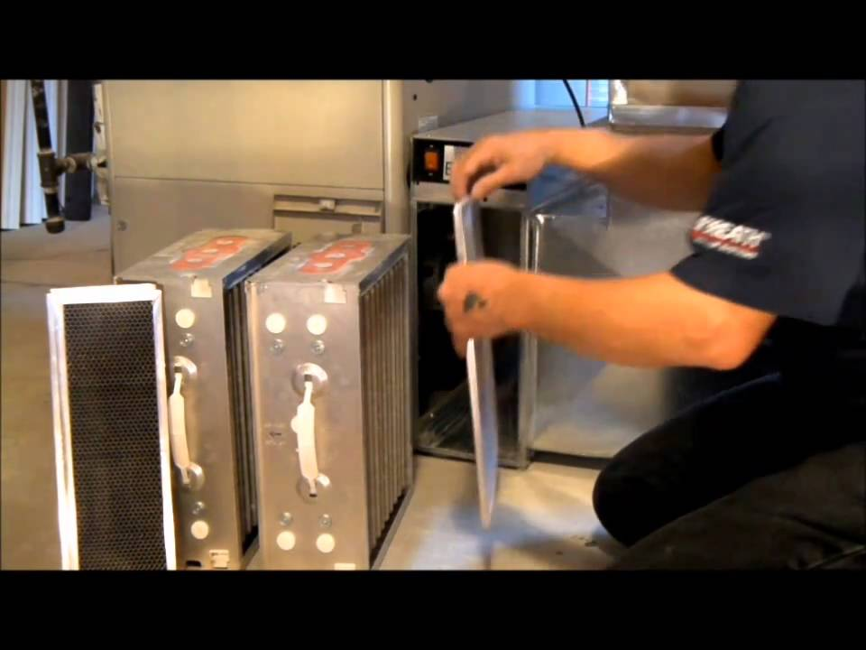 Electronic Air Cleaner | Websters The Heating & Cooling ...
