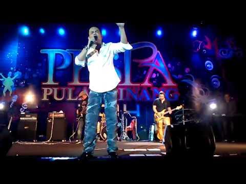 DISANA MENANTI DISINI MENUNGGU - AMIR UKAYS ft INDERA BAND live @PESTA PENANG 2014