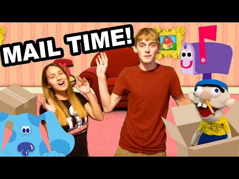 BLUES CLUES MAIL TIME!!