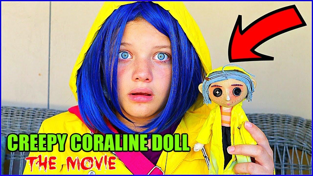 Creepy Coraline Doll The Movie Coraline Dollmaker Rewind Youtube