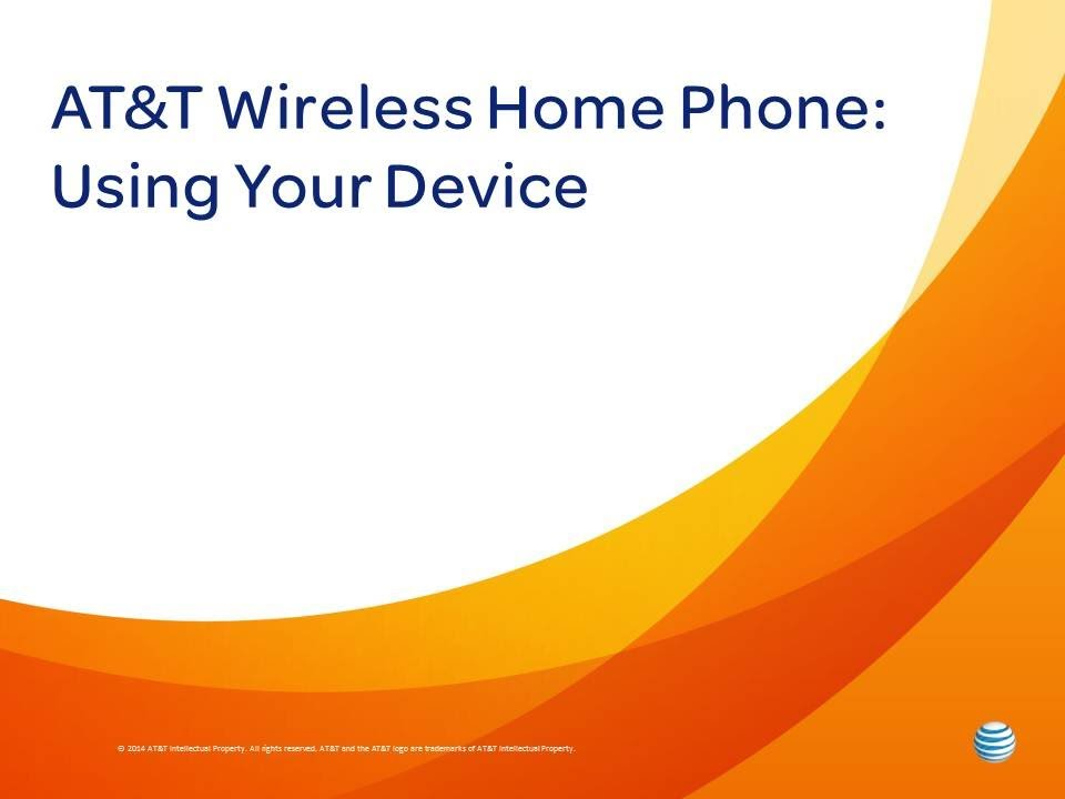 Att wireless home phone using your device youtube att wireless home phone using your device ccuart Choice Image