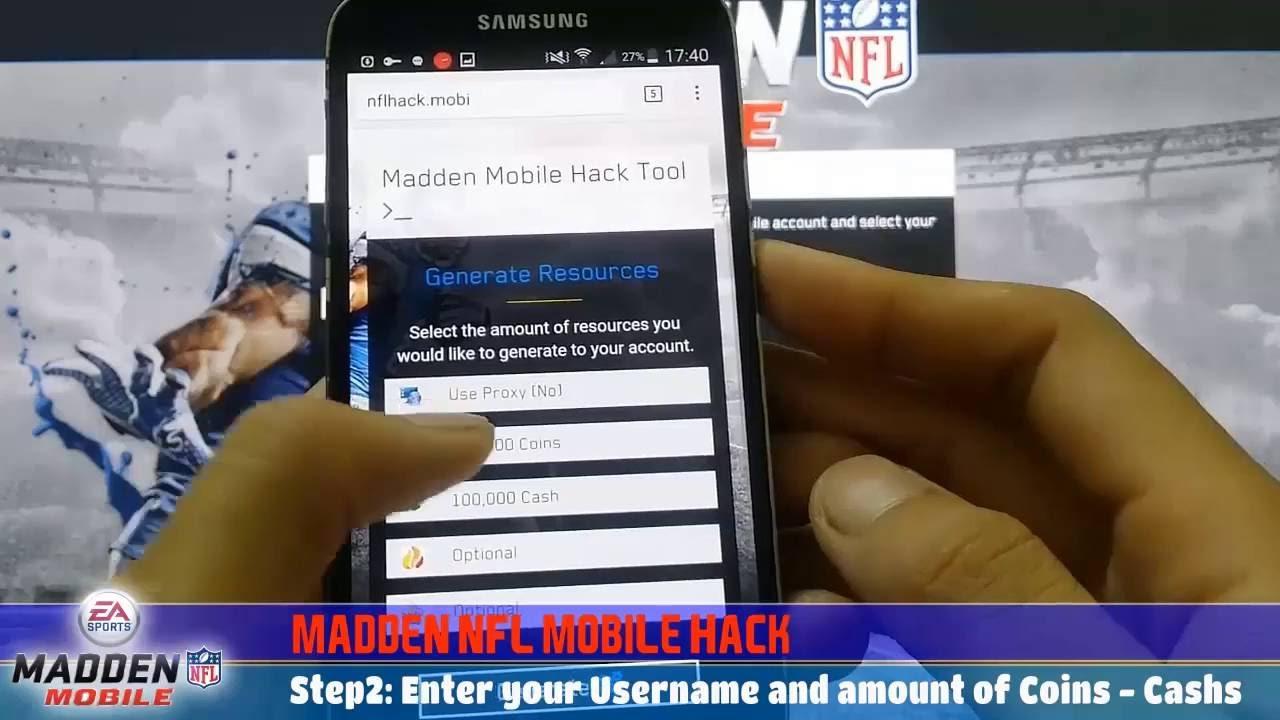 madden nfl mobile hack get unlimited madden cash 2017 android