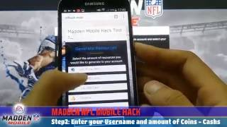 Madden NFL Mobile Hack - Get Unlimited Madden Cash 2016 (Android & iOS)