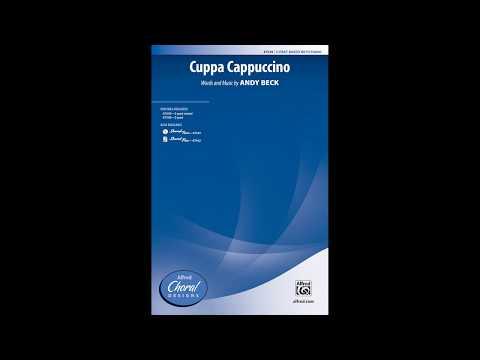 Cuppa Cappuccino, By Andy Beck – Score & Sound