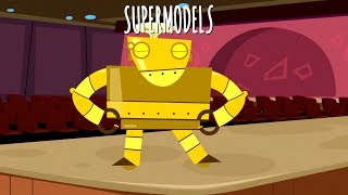 Robots Can Be Supermodels Song Music Video with Lyrics   EdisonSecretLab