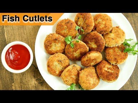 How To Make Fish Cutlets | Fish Cutlets Restaurant Style Recipe | Fish Recipes | Varun Inamdar