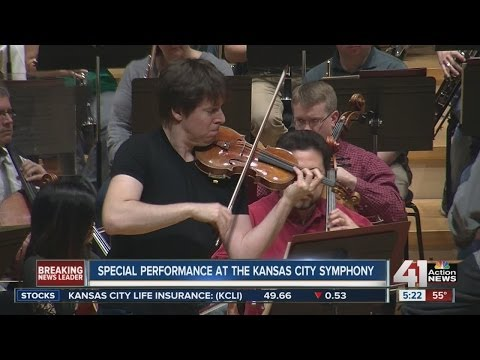 Special performance with the Kansas City Symphony