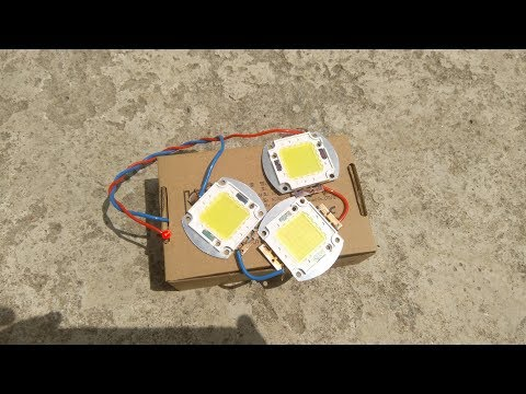 New idea - You can make Solar Cell from LED (Free Energy )