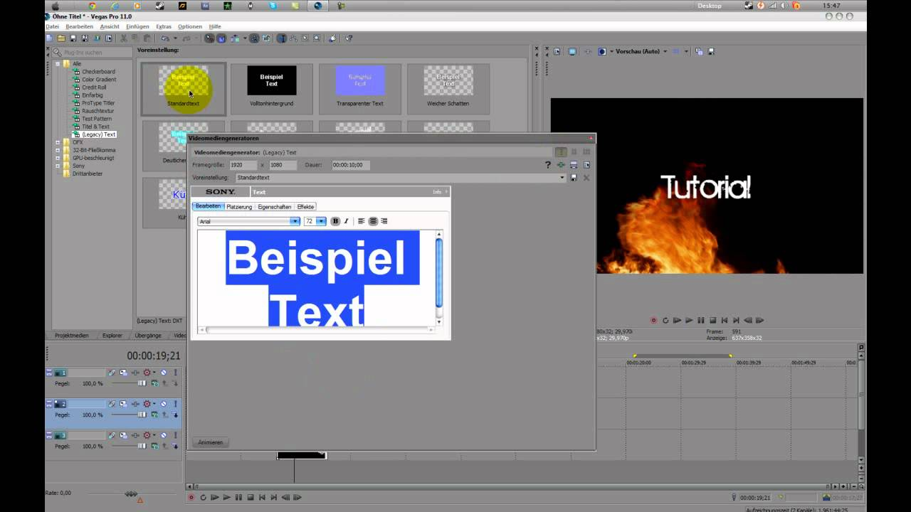 Intro-Vorlage/Intro Template Sony Vegas Pro 11/10 , After effects ...