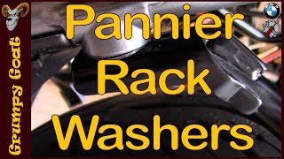 Pannier Rack Washers