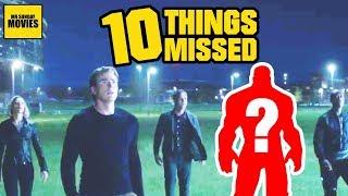 Avengers: Endgame Super Bowl Trailer - Easter Eggs & Things Missed