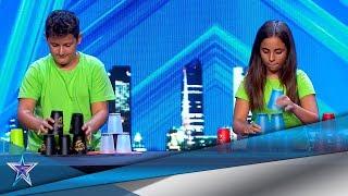 ¡Menudo SHOW montan estos niños con solo unos VASOS! | Audiciones 8 | Got Talent España 5 (2019)