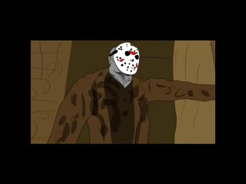 """Friday the 13th"" Jason Short Animated Film!!! (UNCUT SUPER GORY VERSION)"