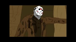 """""""Friday the 13th"""" Jason Short Animated Film!!! (UNCUT SUPER GORY VERSION)"""
