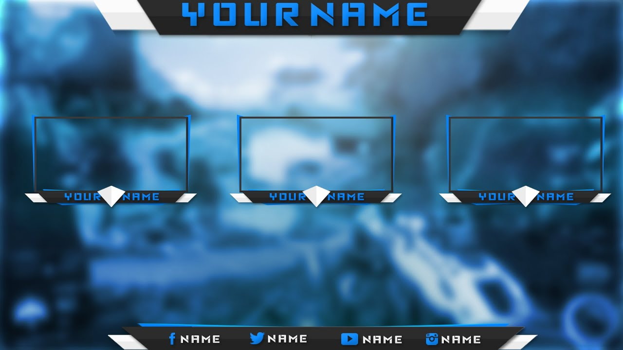 twitch overlay template psd photoshop custom colors free .