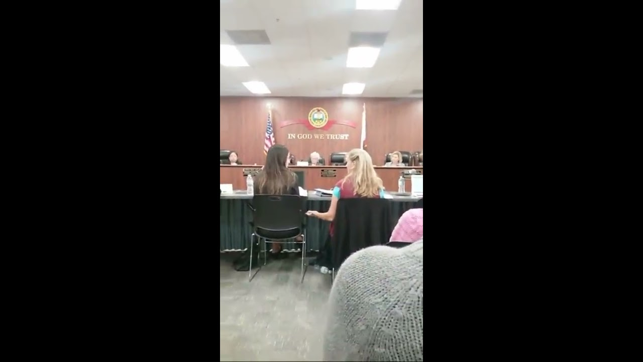 SEX ED -ORANGE COUNTY BOARD OF EDUCATION MEETING