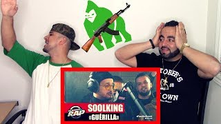 "SOOLKING - ""Guérilla"" #PlanèteRap - REACTION"