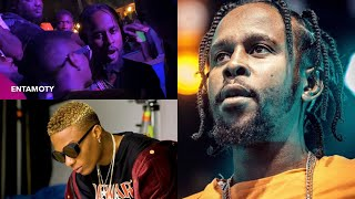 Wizkid Bumps Into Popcaan In Accra Club - See What Happened