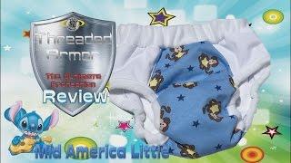 ABDL: Threaded Armor Cloth Diaper Review