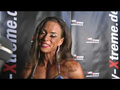 Sabine Simitsopoulos - Deutsche Masters Fitness Figur Meisterin 2018