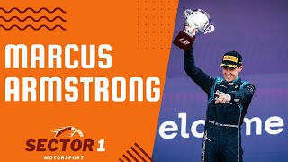HOW TO BECOME A FEŔRARI DRIVER, A CONVERSATION WITH MARCUS ARMSTRONG F2 DRIVER   Sector 1