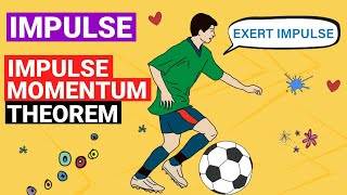 What is Impulse? What is Momentum? Impulse Momentum Theorem | Momentum and Impulse Physics