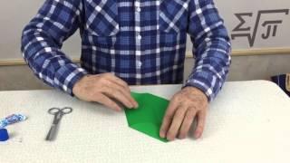 Оригами - Лягушка из бумаги(На этом видео Витольд Петрович показывает, как из зелёной бумаги сделать лягушки., 2016-03-13T14:48:58.000Z)