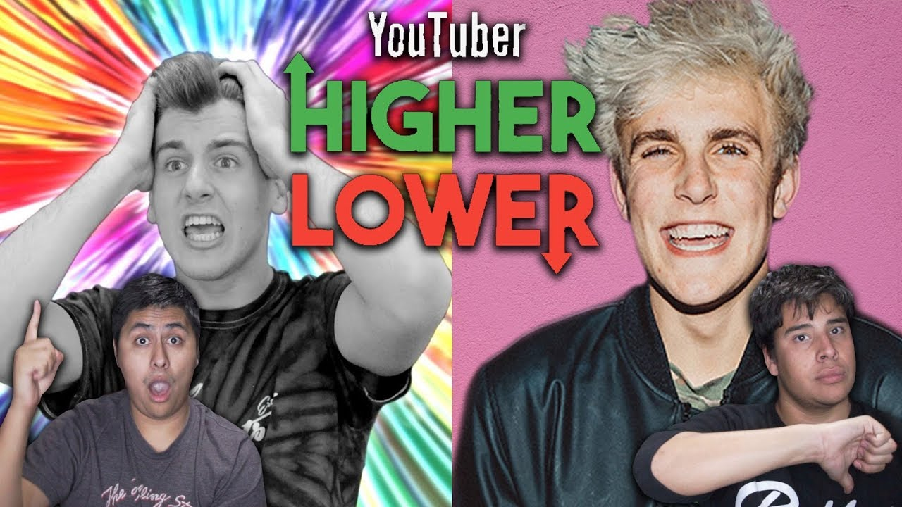 Higher Or Lower YouTuber Edition! - YouTube