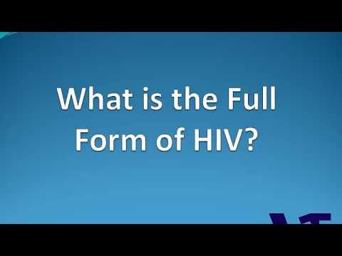 HIV Full Form | Full Form of HIV