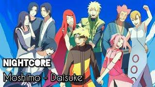 Moshimo - Daisuke [Nightcore] (Op Naruto 12)