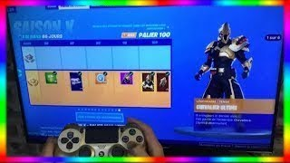 BE PALIER 100 AND LIVE 100 AND 5 MINUTES AND FREE on FORTNITE! (SEASON 10)