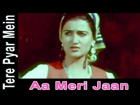 Aa Meri Jaan - Preeti Sagar, Shailendra Singh @ Tere Pyar Mein - Mithun Chakraborty, Sarika