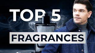 Top 5 Most Complimented Men's Fragrances