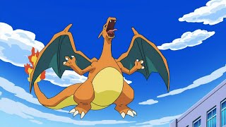 All Ash's Charizard moves