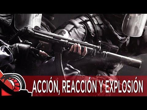 ACCIÓN, REACCIÓN Y EXPLOSIÓN | Rainbow Six Siege - Rankeds c/ None, Eruby, Lobo y Cotrof