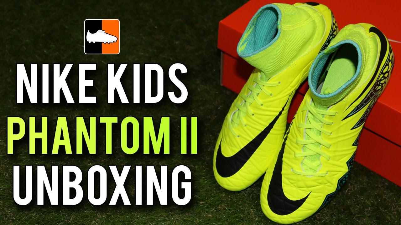 childrens nike hypervenom football boots