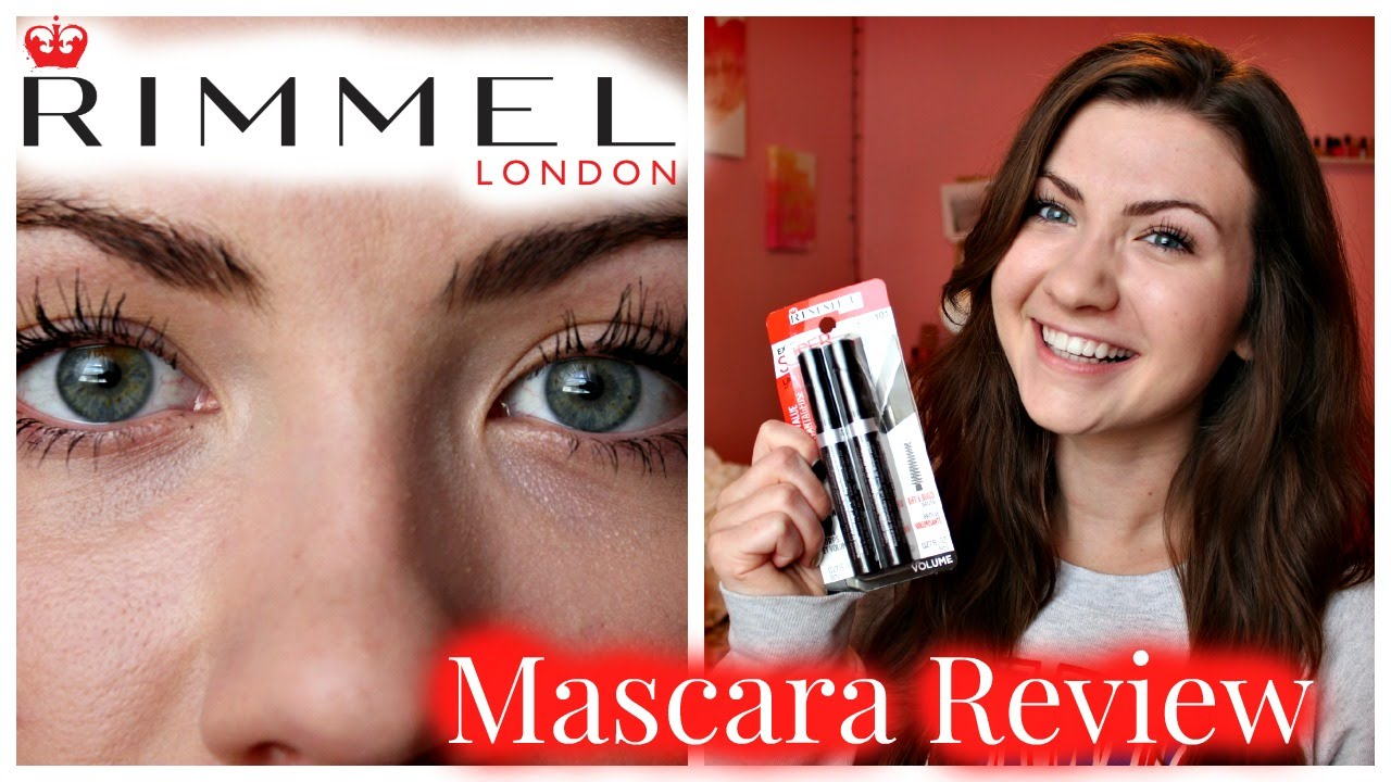 41291b01f04 Rimmel Extra Super Lash Mascara Review + Demo - YouTube