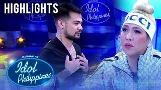 Renwick, ipinakita ang kanyang tattoo sa Judges | Idol Philippines 2019 Auditions