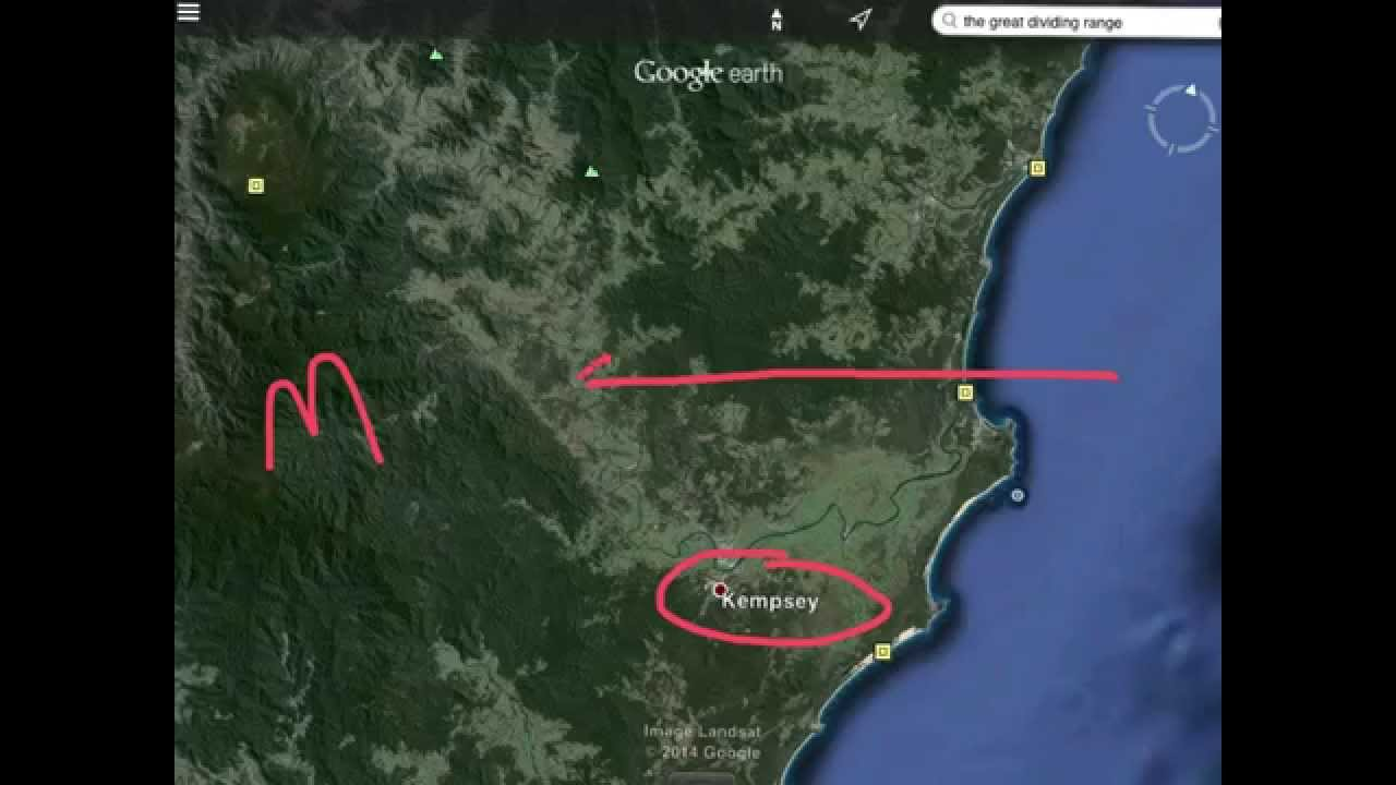 The Great Dividing Range The Rainshadow Effect YouTube - Rain shadow map us