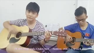 Lớp học Guitar ở Gò Vấp - Học thử FREE tại Dấu Chấm Đen (Video học viên)