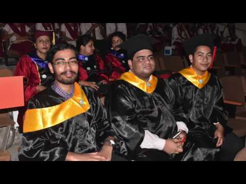 Holy Cross College Agartala Graduation Day 2016